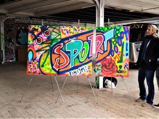 Graffiti Workshop 3